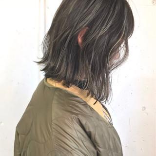 ゆるふわ ストリート 外国人風カラー ボブ ヘアスタイルや髪型の写真・画像