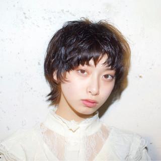 黒髪 ストリート モード 外国人風 ヘアスタイルや髪型の写真・画像