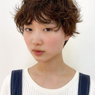 丸みショート 大人かわいい ミニボブ ショートボブ ヘアスタイルや髪型の写真・画像
