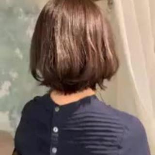 モテ髪 ショートボブ ゆるふわ 大人かわいい ヘアスタイルや髪型の写真・画像