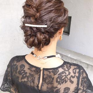 ナチュラル 結婚式ヘアアレンジ デート 結婚式髪型 ヘアスタイルや髪型の写真・画像 ヘアスタイルや髪型の写真・画像