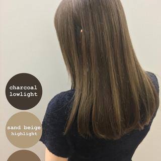 髪質改善トリートメント 大人女子 圧倒的透明感 ナチュラル ヘアスタイルや髪型の写真・画像