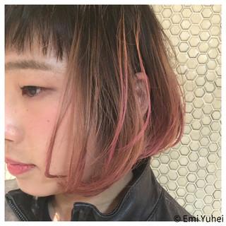 原宿系 ハイライト 外国人風 グラデーションカラー ヘアスタイルや髪型の写真・画像