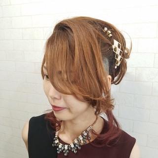 エレガント ヘアセット 縮毛矯正 ロング ヘアスタイルや髪型の写真・画像