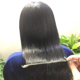 髪質改善カラー 髪質改善 ロング 美髪 ヘアスタイルや髪型の写真・画像
