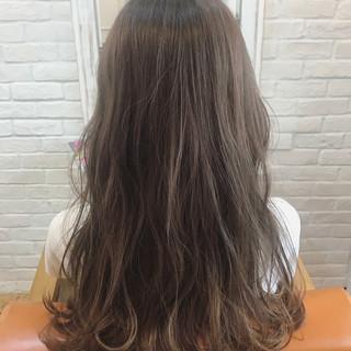 ナチュラル 透明感 ロング 秋 ヘアスタイルや髪型の写真・画像