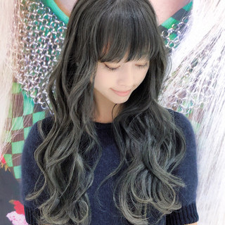 ハイライト フェミニン ロング 大人かわいい ヘアスタイルや髪型の写真・画像