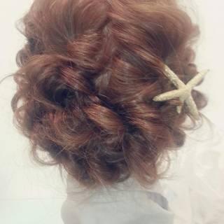 ゆるふわ フェミニン 大人かわいい ヘアアレンジ ヘアスタイルや髪型の写真・画像