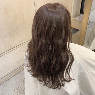 デジタルパーマ ロング 時短ヘア 簡単スタイリング ヘアスタイルや髪型の写真・画像