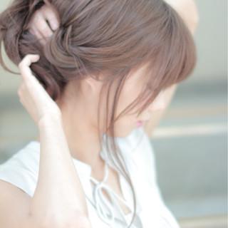 ロング ラフ かわいい ルーズ ヘアスタイルや髪型の写真・画像