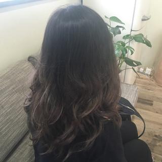 外国人風 グラデーションカラー ガーリー ブリーチ ヘアスタイルや髪型の写真・画像