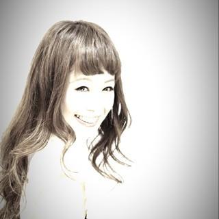 ヘアアレンジ モテ髪 夏 ロング ヘアスタイルや髪型の写真・画像