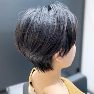 ショート デート ショートヘア ハンサムショート ヘアスタイルや髪型の写真・画像