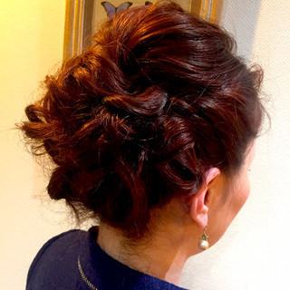 ミディアム ヘアアレンジ かわいい ショート ヘアスタイルや髪型の写真・画像 ヘアスタイルや髪型の写真・画像