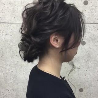 フェミニン 成人式 結婚式 卒業式 ヘアスタイルや髪型の写真・画像 ヘアスタイルや髪型の写真・画像