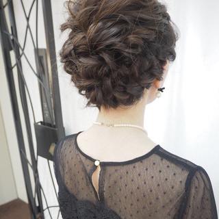 結婚式 簡単ヘアアレンジ ナチュラル デート ヘアスタイルや髪型の写真・画像