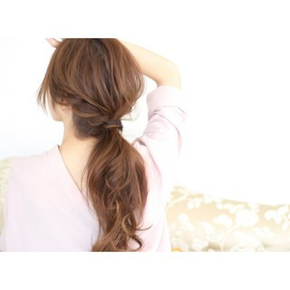 ナチュラル 簡単ヘアアレンジ ヘアアレンジ ショート ヘアスタイルや髪型の写真・画像