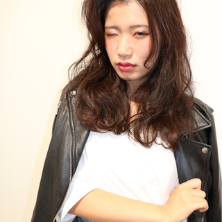 モード 簡単ヘアアレンジ 外国人風 ゆるふわ ヘアスタイルや髪型の写真・画像