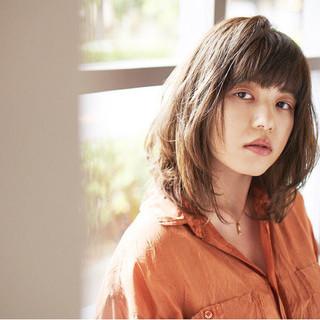 暗髪 女子力 ヘアアレンジ ワイドバング ヘアスタイルや髪型の写真・画像