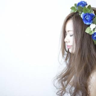 ゆるふわ 花嫁 コンサバ 愛され ヘアスタイルや髪型の写真・画像
