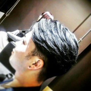 モード メンズ パーマ ボーイッシュ ヘアスタイルや髪型の写真・画像 ヘアスタイルや髪型の写真・画像