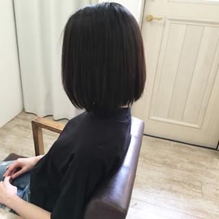 秋 大人女子 ボブ ナチュラル ヘアスタイルや髪型の写真・画像