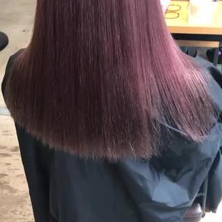 ピンクラベンダー ピンクパープル ハイトーンカラー アディクシーカラー ヘアスタイルや髪型の写真・画像