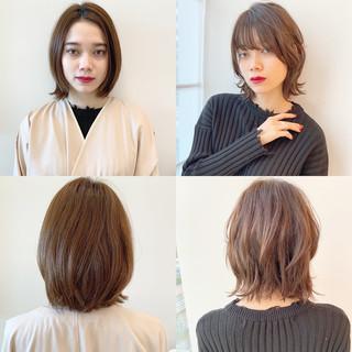 パーマ モード デート ボブ ヘアスタイルや髪型の写真・画像 ヘアスタイルや髪型の写真・画像