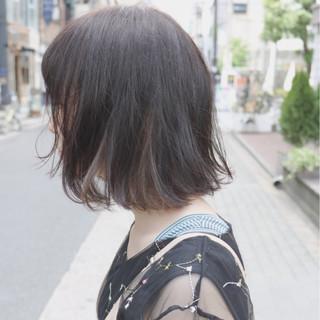 大人かわいい インナーカラー 透明感 イルミナカラー ヘアスタイルや髪型の写真・画像
