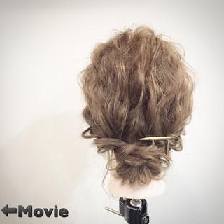 ゆるふわ ショート ヘアアレンジ 簡単ヘアアレンジ ヘアスタイルや髪型の写真・画像 ヘアスタイルや髪型の写真・画像
