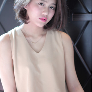 大人女子 コンサバ ショートボブ セクシー ヘアスタイルや髪型の写真・画像