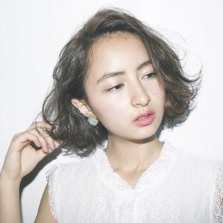 暗髪 モード 外国人風 黒髪 ヘアスタイルや髪型の写真・画像