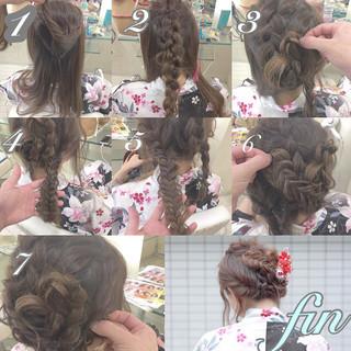 ゆるふわ ヘアアレンジ 花火大会 お祭り ヘアスタイルや髪型の写真・画像 ヘアスタイルや髪型の写真・画像
