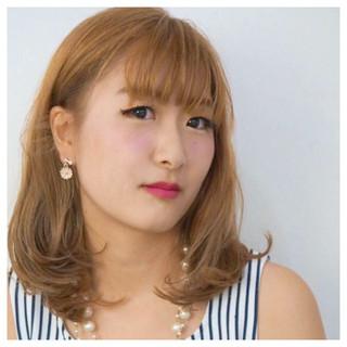 渋谷系 ゆるふわ 外ハネ ガーリー ヘアスタイルや髪型の写真・画像