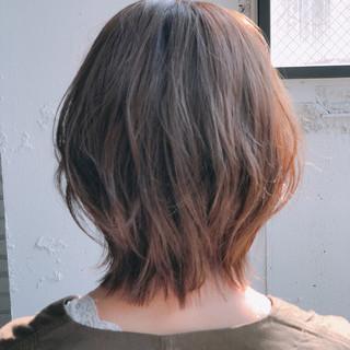 フェミニン ボブ デート 小顔ショート ヘアスタイルや髪型の写真・画像 ヘアスタイルや髪型の写真・画像