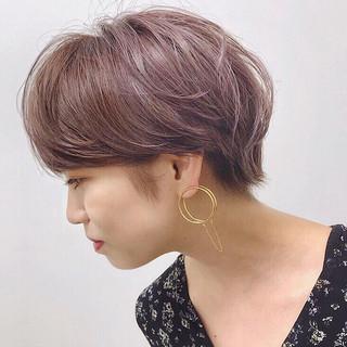 福岡市 ラベンダーピンク ピンク ブリーチ ヘアスタイルや髪型の写真・画像