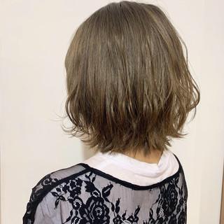 デート ボブ ナチュラル 小顔ヘア ヘアスタイルや髪型の写真・画像
