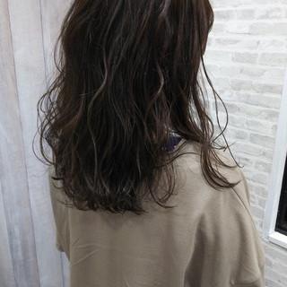 波巻き ハイライト ダブルカラー 夏 ヘアスタイルや髪型の写真・画像