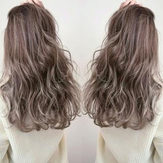 外国人風 ストリート ニュアンス ロング ヘアスタイルや髪型の写真・画像