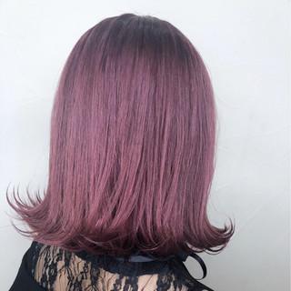 ピンク ダブルカラー 外国人風カラー デート ヘアスタイルや髪型の写真・画像