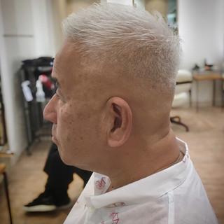 刈り上げ ストリート フェードカット ベリーショート ヘアスタイルや髪型の写真・画像