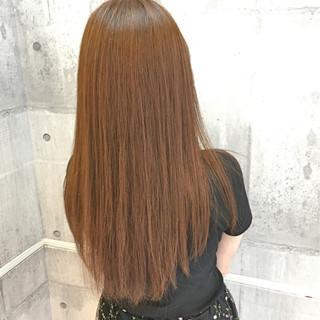 透明感 イルミナカラー ロング ベージュ ヘアスタイルや髪型の写真・画像