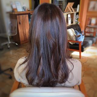 ナチュラル ロング 美髪 髪質改善トリートメント ヘアスタイルや髪型の写真・画像