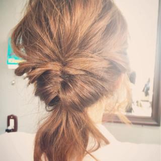 簡単ヘアアレンジ ゆるふわ 大人女子 ショート ヘアスタイルや髪型の写真・画像 ヘアスタイルや髪型の写真・画像