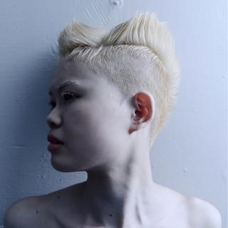 ショート 大人女子 ベリーショート 個性的 ヘアスタイルや髪型の写真・画像
