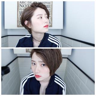 ニュアンス 外国人風 ミルクティー パーマ ヘアスタイルや髪型の写真・画像