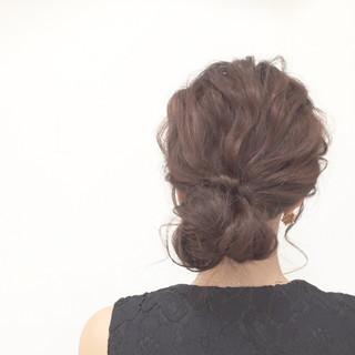 愛され モテ髪 フェミニン ヘアアレンジ ヘアスタイルや髪型の写真・画像