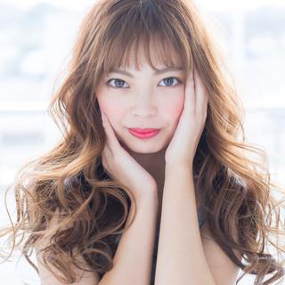 ロング ロングヘアスタイル 波ウェーブ 髪質改善 ヘアスタイルや髪型の写真・画像