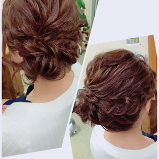 ヘアアレンジ 梅雨 雨の日 ガーリー ヘアスタイルや髪型の写真・画像