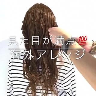 大人女子 ロング 結婚式 ヘアアレンジ ヘアスタイルや髪型の写真・画像